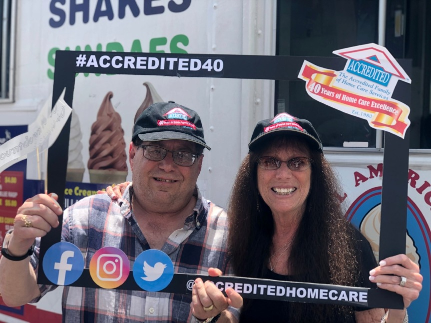 Accredited Home Care Marks Its 40 Year Anniversary by Donating $40,000 to LocalCharities